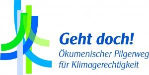 Logo: Geht doch! Ökumenischer Pilgerwegs für Klimagerechtigkeit