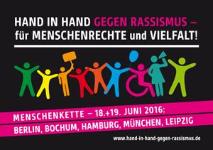 Hand in Hand gegen Rassismus